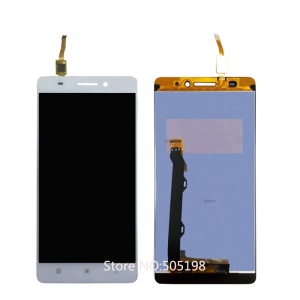 OEM LCD Screen and Digitizer Assembly for Lenovo A7000 - White