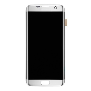 OEM LCD Screen and Digitizer Assembly for Samsung Galaxy S7 edge G935 - Silver Color