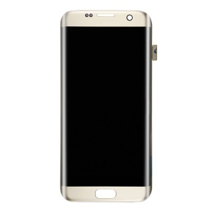 OEM LCD Screen and Digitizer Assembly for Samsung Galaxy S7 edge G935 - Gold Color