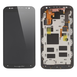 LCD Screen and Digitizer Assembly with Front Housing for Motorola Moto X2 XT1097 (OEM Disassembly Refurbished) - Black