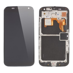 LCD Screen and Digitizer Assembly with Front Housing for Motorola Moto X