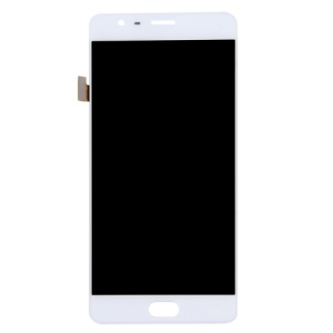 OEM LCD Screen and Digitizer Assembly Part Replacement for OnePlus 3 - White