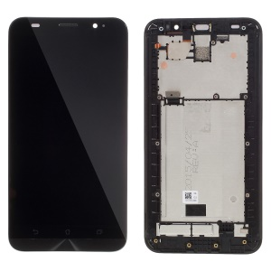 LCD Screen and Digitizer Assembly with Front Housing for Asus Zenfone 2 ZE550ML (OEM Disassembly)