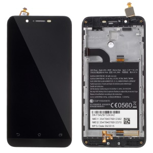LCD Screen and Digitizer Assembly with Front Housing for Asus Zenfone Go ZC500TG (OEM Disassembly)