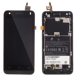 LCD Screen and Digitizer Assembly with Front Housing for ASUS ZenFone C ZC451CG (OEM Disassembly)