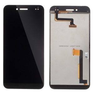 LCD Screen and Digitizer Assembly Replacement for Asus PadFone S PF500KL Phone - Black