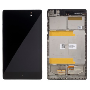 LCD Screen and Digitizer Assembly with Front Housing for Asus Google Nexus 7 2 II (OEM Disassembly)