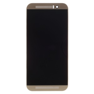 For HTC One M9 LCD Screen and Digitizer Assembly with Frame Replacement - Gold