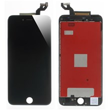 For iPhone 6s Plus LCD Screen and Digitizer Assembly + Frame with Small Parts (Made by China Manufacturer) - Black