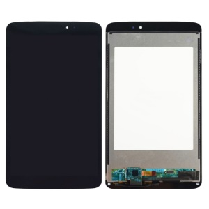 For LG G Pad 8.3 V500  LCD Screen and Digitizer Assembly Refurbished Disassembly - Black