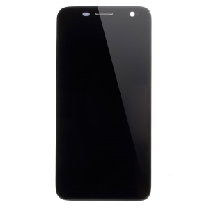 LCD Screen and Digitizer Assembly with Frame for Alcatel One Touch Idol Mini OT-6012 (OEM Disassembly) - Black
