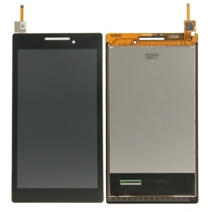 LCD Screen and Digitizer Assembly Part for Lenovo Tab 2 A7-10 (Refurbished Disassembly) - Black