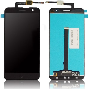 For ZTE Blade V7 OEM LCD Screen and Digitizer Assembly Replacement Accessory - Black
