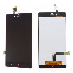 For ZTE nubia Z9 mini OEM LCD Screen and Digitizer Assembly Replace Part - Black