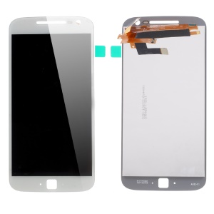 OEM LCD Screen and Digitizer Assembly Replacement for Motorola Moto G4 Plus - White