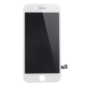For iPhone 7 Plus LCD Screen and Digitizer Assembly + Frame with Small Parts (Made by China Manufacturer, 380-450cd/m2 Brightness + Full View) - White