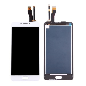 For Meizu m5 Note OEM LCD Screen and Digitizer Assembly Replacement - White