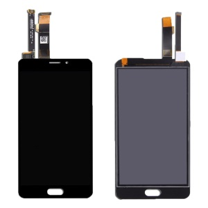 For Meizu M3E OEM LCD Screen and Digitizer Assembly  Replacement Part - Black