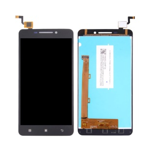 For Lenovo A5000 5.0-inch OEM LCD Screen and Digitizer Assembly Replacement Part - Black