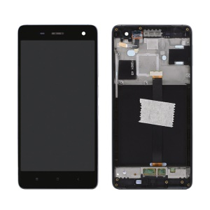 OEM LCD Screen and Digitizer Assembly with Frame for Xiaomi Mi 4 - Black