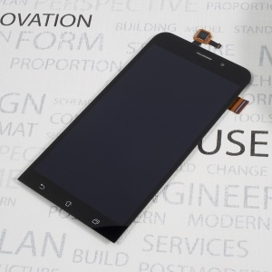 LCD Screen and Digitizer Assembly Replacement for Asus Zenfone Max ZC550KL - Black