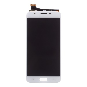 OEM Spare Part LCD Screen and Digitizer Assembly for Samsung Galaxy J7 Prime / On7 (2016) - White