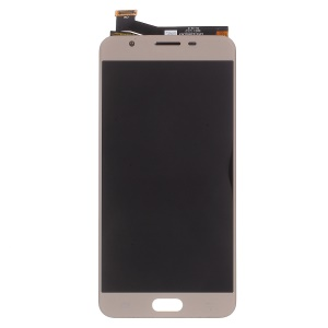 OEM LCD Screen and Digitizer Assembly Replace Part for Samsung Galaxy J7 Prime / On7 (2016) - Gold Color