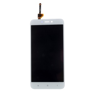 Screen and Digitizer Assembly Replace Part(Non-OEM Screen Glass Lens, OEM Other Parts) for Xiaomi Redmi 4X - White