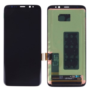 OEM LCD Screen and Digitizer Assembly Replacement Part for Samsung Galaxy S8 G950 - Black