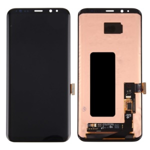 OEM LCD Screen and Digitizer Assembly Replacement for Samsung Galaxy S8 Plus G955 - Black