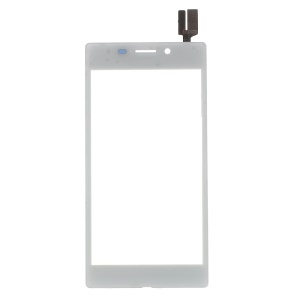 For Sony Xperia M2 Aqua Digitizer Touch Screen Replacement Part - White