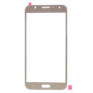 OEM Front Glass Lens Spare Part for Samsung Galaxy J7 SM-J700F - Champagne
