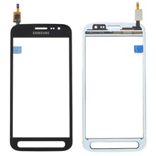 Touch Digitizer Screen Glass with Adhesive Sticker for Samsung Galaxy Xcover 4 G390F - Black