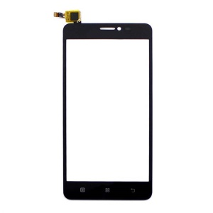 OEM Touch Digitizer Screen Front Glass Repair Part for Lenovo S850 - Black