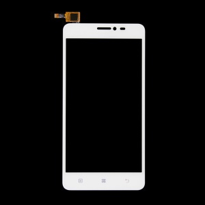 OEM Touch Digitizer Screen Front Glass Repair Part for Lenovo S850 - White