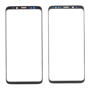 Front Screen Glass Lens Part for Samsung Galaxy S9 Plus SM-G965 - Black