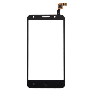 Assembly Touch Digitizer Screen Glass Part for Alcatel Pixi 4 (5) 4G / 5045 - Black