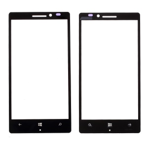 Front Screen Glass Lens Replacement for Nokia Lumia 930 - Black