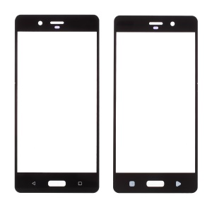 Outer Screen Glass Lens Replacement for Nokia 8 - Black