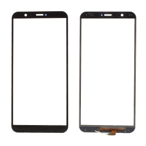 For Huawei Enjoy 7S Touch Digitizer Screen Glass Part - Black
