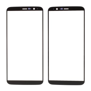 Black - Outer Front Screen Glass Lens Part for OnePlus 5T