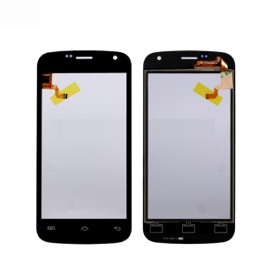 Touch Digitizer Screen Front Glass Repair Part for Doogee X3 - Black