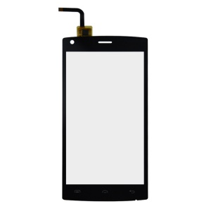 Touch Digitizer Screen Front Glass Repair Part for Doogee X5 Max - Black