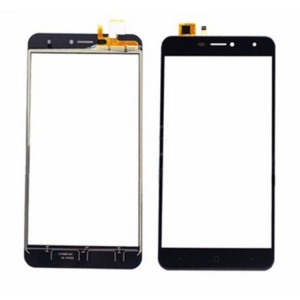 Touch Digitizer Screen Front Glass Repair Part for Doogee X7 - Black