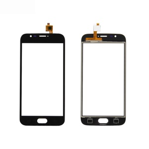 Touch Digitizer Screen Front Glass Repair Part for Doogee X9 Mini - Black