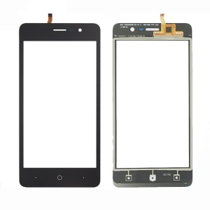 Touch Digitizer Screen Front Glass Repair Part for Doogee X10 - Black