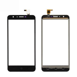 Touch Digitizer Screen Front Glass Repair Part for Doogee Y6 - Black