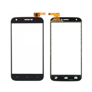 Touch Digitizer Screen Front Glass Repair Part for Doogee Y100 Plus - Black