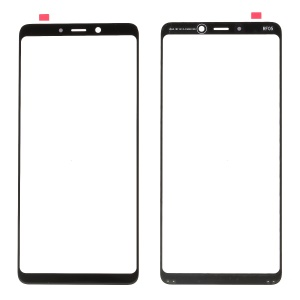 Front Screen Glass Lens Replacement for Samsung Galaxy A9 (2018) / A9 Star Pro / A9 (2018) - Black