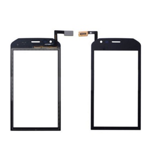 Assemblea Touch Screen Digitizer Parte In Vetro Per Gatto S30 - Nero